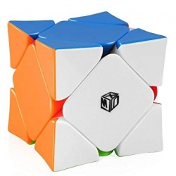 Qiyi X-Man Wingy Magnetic Skewb (Concave) Stickerless