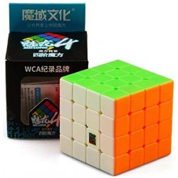 4x4x4 Mofang Jiaoshi Meilong, Stickerless