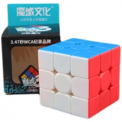 3x3x3 Mofang Jiaoshi Meilong, Stickerless