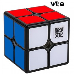 2x2x2 MoYu Weipo WR M, Magnetic Black