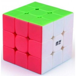 3x3x3 Qiyi Warrior S, stickerless
