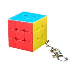 3x3x3 Keyring Cube (3.0cm) stickerless