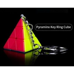 Pyraminx Qiyi Mini Keyring Stickerless